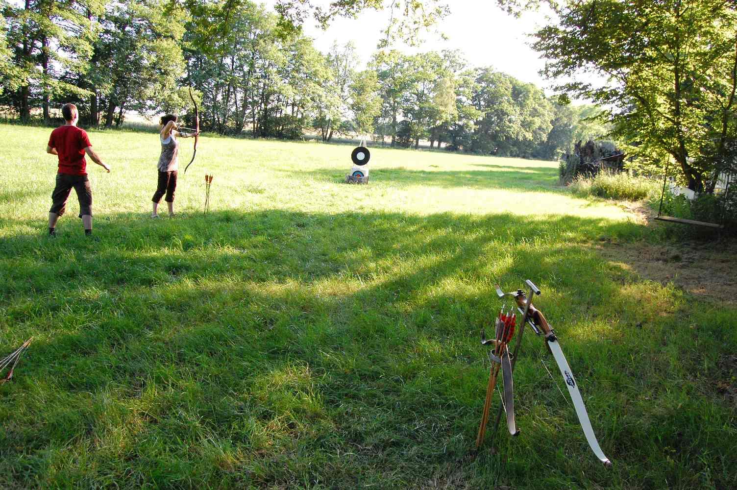 Sommer und Bogen
