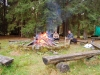 Zentraler Sammelpunkt: das Lagerfeuer
